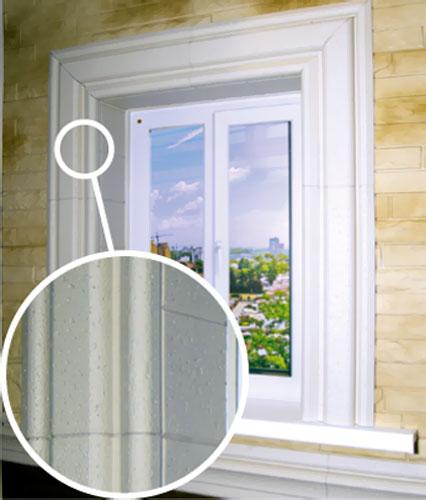 наличники на окна пластиковые фото