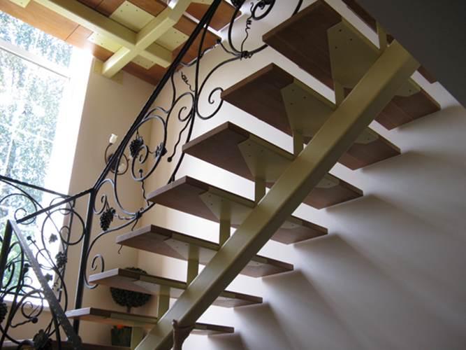 Лестницы из косоура своими руками