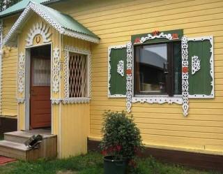 Примеры оформления домовой резьбой Резной Дом.