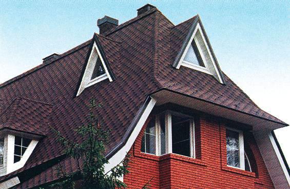Крыши домов с окнами фото